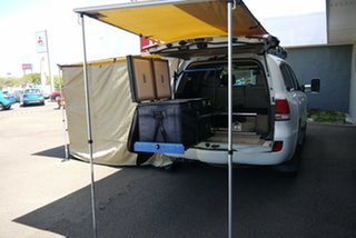 2010 Toyota Landcruiser VDJ200R MY10 Sahara White 6 Speed Sports Automatic Wagon.