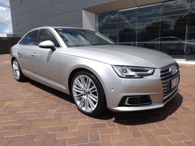 Used Audi A4 B9 8W MY16 Sport S Tronic Toowoomba, 2016 Audi A4 B9 8W MY16 Sport S Tronic 7 Speed Sports Automatic Dual Clutch Sedan