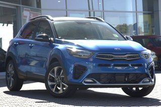 2021 Kia Stonic YB MY21 GT Line Sporty Blue 7 Speed Auto Dual Clutch Wagon.