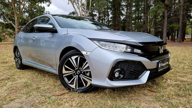Used Honda Civic 10th Gen MY17 VTi-LX Nuriootpa, 2017 Honda Civic 10th Gen MY17 VTi-LX Grey 1 Speed Constant Variable Hatchback