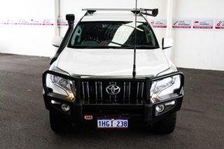2015 Toyota Landcruiser Prado GDJ150R MY16 GXL (4x4) Glacier White 6 Speed Automatic Wagon.