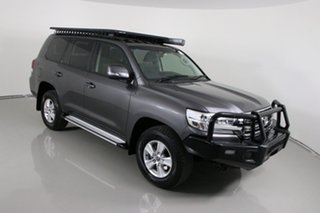 2016 Toyota Landcruiser VDJ200R MY16 GXL (4x4) Grey 6 Speed Automatic Wagon