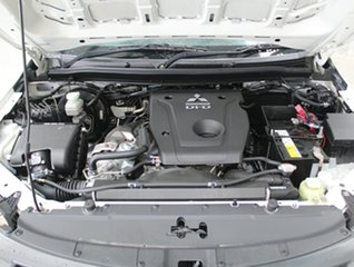 2016 Mitsubishi Triton MQ MY16 GLX 4x2 White 5 speed Automatic Cab Chassis.