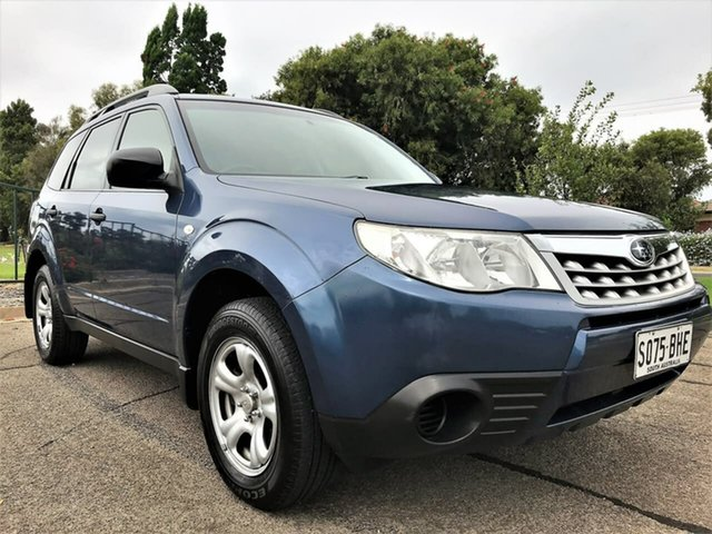 Used Subaru Forester S3 MY12 X AWD Enfield, 2011 Subaru Forester S3 MY12 X AWD Blue 4 Speed Sports Automatic Wagon