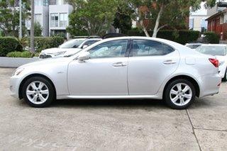 2008 Lexus IS250 GSE20R Prestige Silver 6 Speed Auto Sequential Sedan