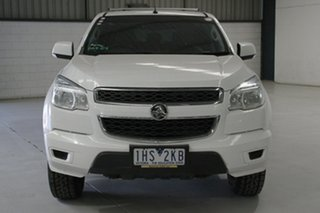 2016 Holden Colorado RG MY16 LS (4x4) Summit White 6 Speed Automatic Crew Cab Pickup