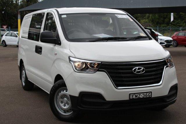 Demo Hyundai iLOAD TQ4 MY21 Tuggerah, 2020 Hyundai iLOAD TQ4 MY21 Creamy White 5 Speed Automatic Van
