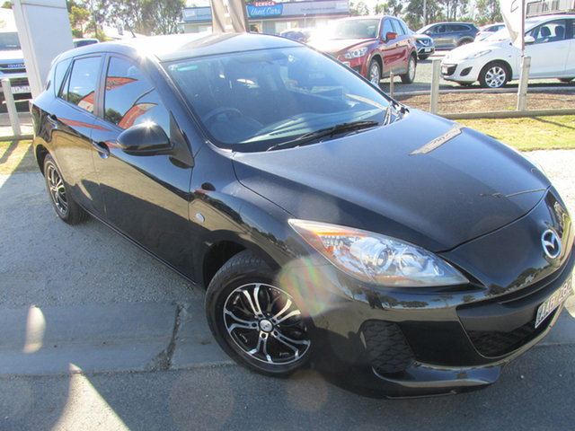 Used Mazda 3 BL10F2 MY13 Neo Activematic Echuca, 2013 Mazda 3 BL10F2 MY13 Neo Activematic Black 5 Speed Sports Automatic Hatchback