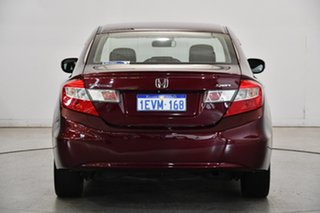 2015 Honda Civic 9th Gen Ser II MY15 Sport Red 5 Speed Sports Automatic Sedan