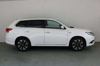 2018 Mitsubishi Outlander ZK MY18 PHEV AWD LS White 1 Speed Automatic Wagon Hybrid
