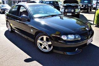 2002 Holden Commodore VX II SS Black 4 Speed Automatic Sedan.