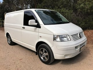 2008 Volkswagen Transporter T5 MY08 Low Roof White 5 Speed Manual Van