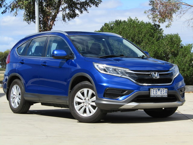 Used Honda CR-V RM Series II MY16 VTi Ravenhall, 2015 Honda CR-V RM Series II MY16 VTi 5 Speed Automatic Wagon