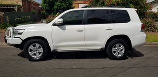 2017 Toyota Landcruiser VDJ200R MY16 GXL (4x4) White 6 Speed Automatic Wagon