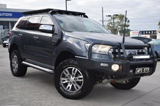 2015 Ford Everest UA Titanium Grey 6 Speed Sports Automatic SUV.