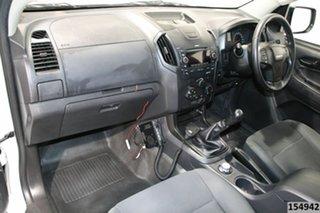 2014 Isuzu D-MAX TF MY14 SX (4x4) White 5 Speed Manual Cab Chassis