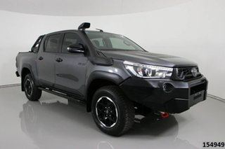 2020 Toyota Hilux GUN126R MY19 Upgrade Rugged X (4x4) Grey 6 Speed Automatic Double Cab Pick Up.