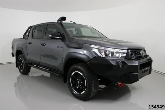 Used Toyota Hilux GUN126R MY19 Upgrade Rugged X (4x4) Bentley, 2020 Toyota Hilux GUN126R MY19 Upgrade Rugged X (4x4) Grey 6 Speed Automatic Double Cab Pick Up