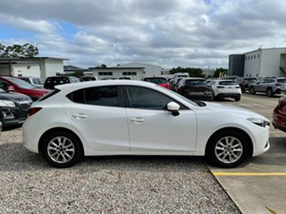 2016 Mazda 3 BM5478 Touring SKYACTIV-Drive White 6 Speed Sports Automatic Hatchback.