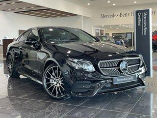 2017 Mercedes-Benz E-Class C238 808+058MY E400 9G-Tronic PLUS 4MATIC Black 9 Speed Sports Automatic.