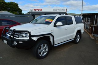 2018 Volkswagen Amarok 2H MY18 V6 TDI 550 Core 8 Speed Automatic Dual Cab Utility.