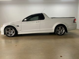 2010 Holden Commodore VE II SV6 White 6 Speed Automatic Utility