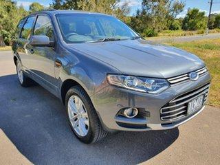 2012 Ford Territory SZ TS Grey Sports Automatic Wagon.