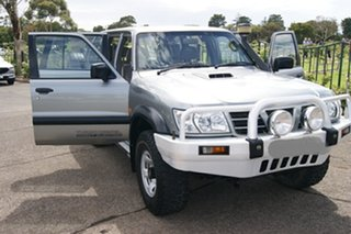 2002 Nissan Patrol GU III ST (4x4) Grey 5 Speed Manual Wagon