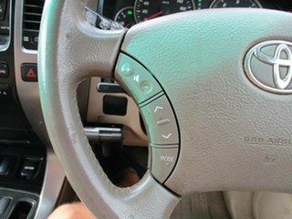 2008 Toyota Landcruiser Prado KDJ120R GXL Gold 5 Speed Automatic Wagon