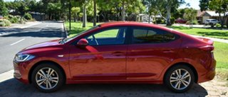 2016 Hyundai Elantra AD MY17 Active Red 6 Speed Sports Automatic Sedan