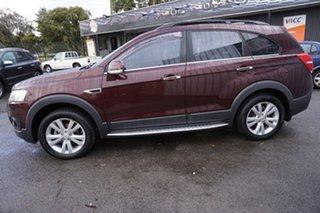 2014 Holden Captiva CG MY14 7 AWD LT Dark Burgundy 6 Speed Sports Automatic Wagon.