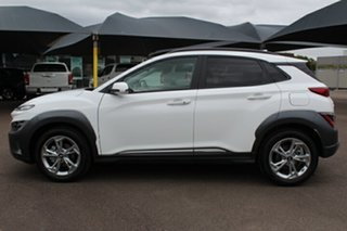 2020 Hyundai Kona Os.v4 MY21 Elite 2WD Atlas White 8 Speed Constant Variable Wagon
