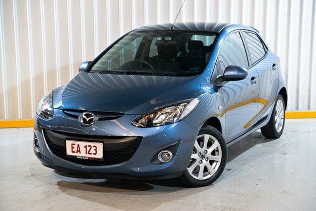 Used Mazda 2 DE10Y2 MY14 Maxx Sport Hendra, 2014 Mazda 2 DE10Y2 MY14 Maxx Sport Blue 4 Speed Automatic Hatchback