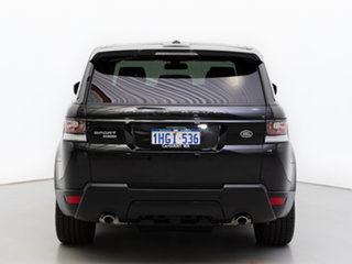 2014 Land Rover Range Rover LW Sport 3.0 SDV6 HSE Santorini Black 8 Speed Automatic Wagon