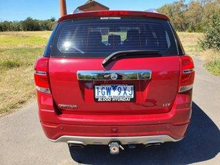 2016 Holden Captiva CG LTZ Red Sports Automatic Wagon