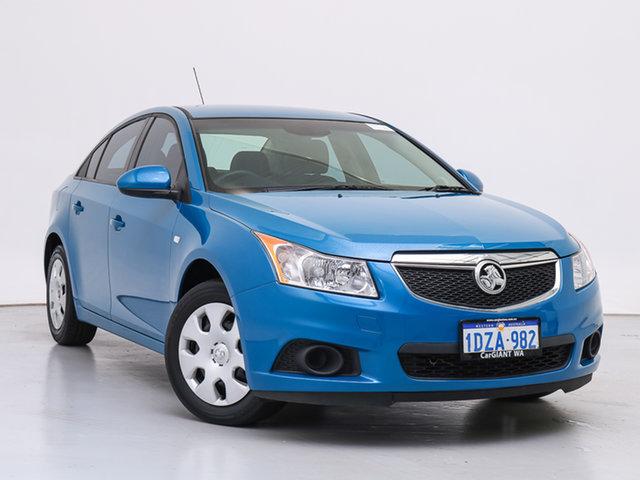 Used Holden Cruze JH MY13 CD, 2012 Holden Cruze JH MY13 CD Blue 6 Speed Automatic Sedan