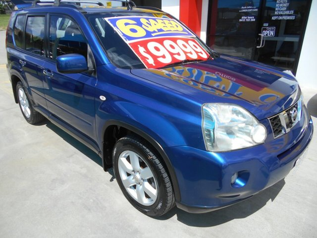 Used Nissan X-Trail T31 MY10 ST-L Springwood, 2009 Nissan X-Trail T31 MY10 ST-L Blue 6 Speed Manual Wagon