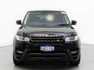 2014 Land Rover Range Rover LW Sport 3.0 SDV6 HSE Santorini Black 8 Speed Automatic Wagon.