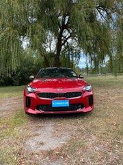 2020 Kia Stinger CK MY21 GT Fastback Hichroma Red 8 Speed Automatic Sedan.
