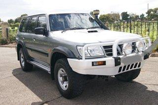 2002 Nissan Patrol GU III ST (4x4) Grey 5 Speed Manual Wagon.