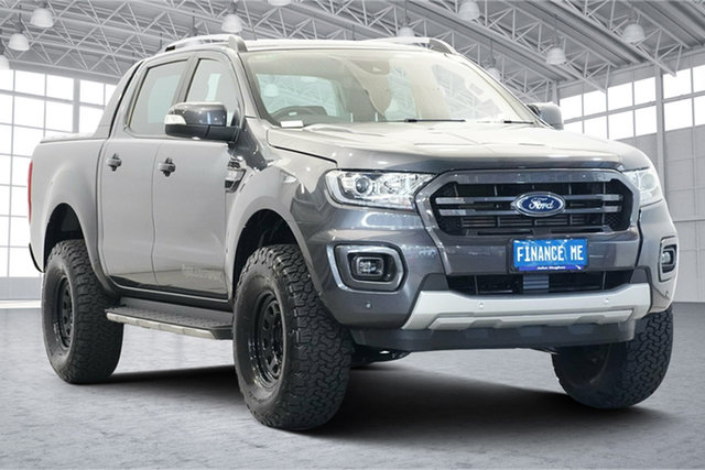 Used Ford Ranger PX MkIII 2020.25MY Wildtrak Victoria Park, 2019 Ford Ranger PX MkIII 2020.25MY Wildtrak Grey 6 Speed Sports Automatic Double Cab Pick Up