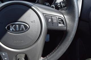 2011 Kia Cerato TD MY11 SLi Black 6 Speed Sports Automatic Sedan