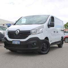 2016 Renault Trafic X82 103KW Low Roof SWB White 6 Speed Manual Van.