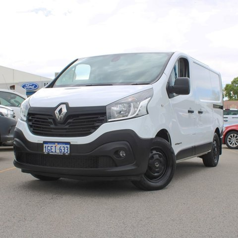 Used Renault Trafic X82 103KW Low Roof SWB Midland, 2016 Renault Trafic X82 103KW Low Roof SWB White 6 Speed Manual Van