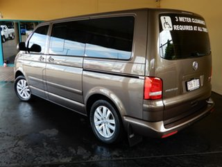 2013 Volkswagen Multivan T5 MY13 Comfortline TDI400 4 Motion Brown 7 Speed Auto Direct Shift Wagon