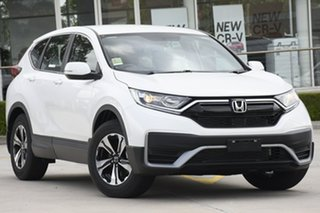 2021 Honda CR-V RW MY21 Vi FWD Platinum White 1 Speed Constant Variable Wagon.