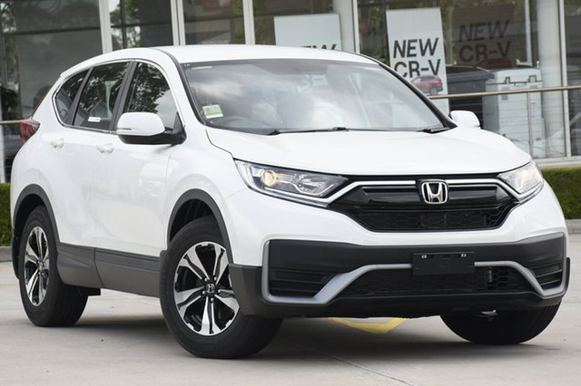 New Honda CR-V RW MY21 Vi FWD Hornsby, 2020 Honda CR-V RW MY21 Vi FWD Platinum White 1 Speed Constant Variable Wagon