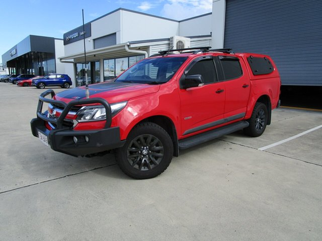Used Holden Colorado RG MY19 Z71 Pickup Crew Cab Caboolture, 2018 Holden Colorado RG MY19 Z71 Pickup Crew Cab Red 6 Speed Sports Automatic Utility
