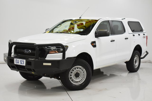 Used Ford Ranger PX MkII XL Brooklyn, 2017 Ford Ranger PX MkII XL White 6 Speed Sports Automatic Utility