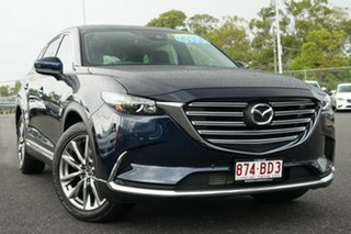 2017 Mazda CX-9 TC GT SKYACTIV-Drive i-ACTIV AWD Deep Crystal Blue 6 Speed Sports Automatic Wagon.
